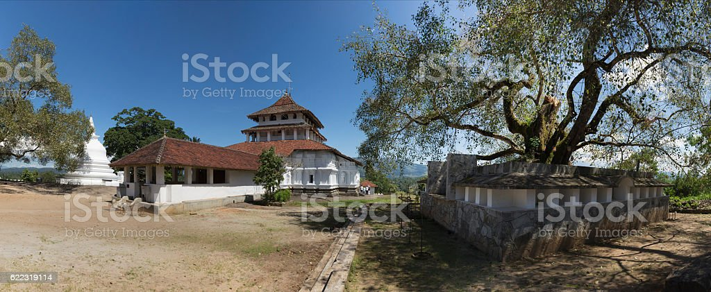 Lankatilaka Vihara Buddhist Temple stock photo