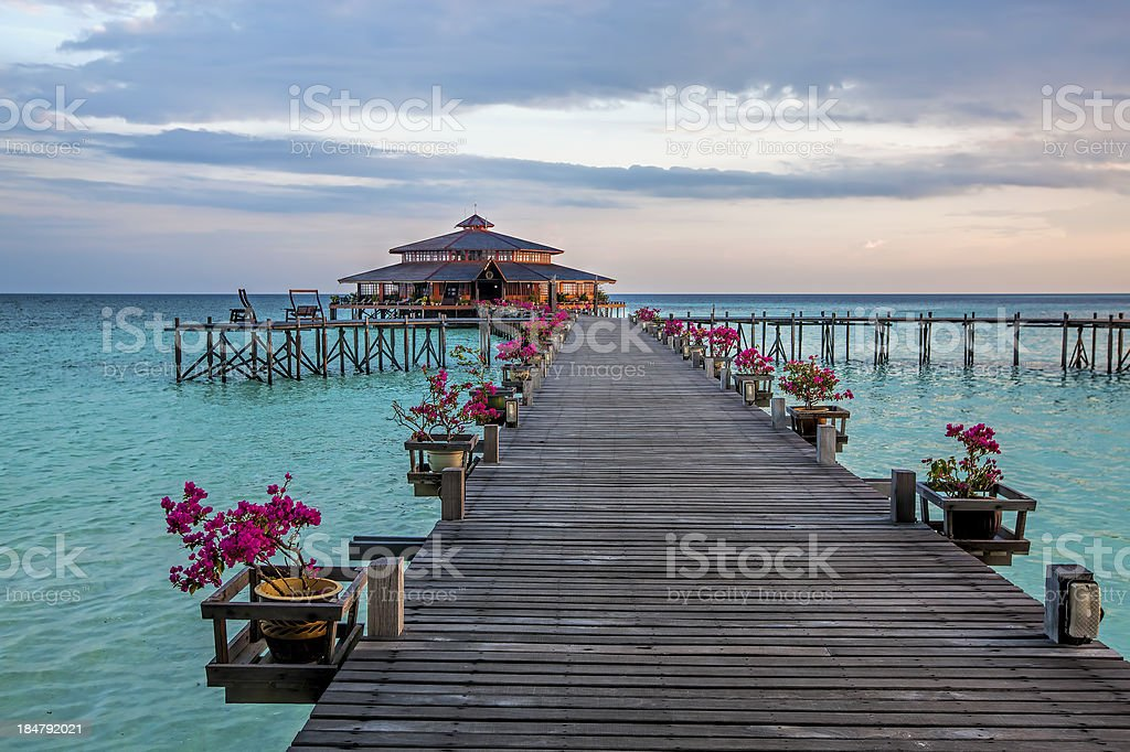 Lankayan Island stock photo