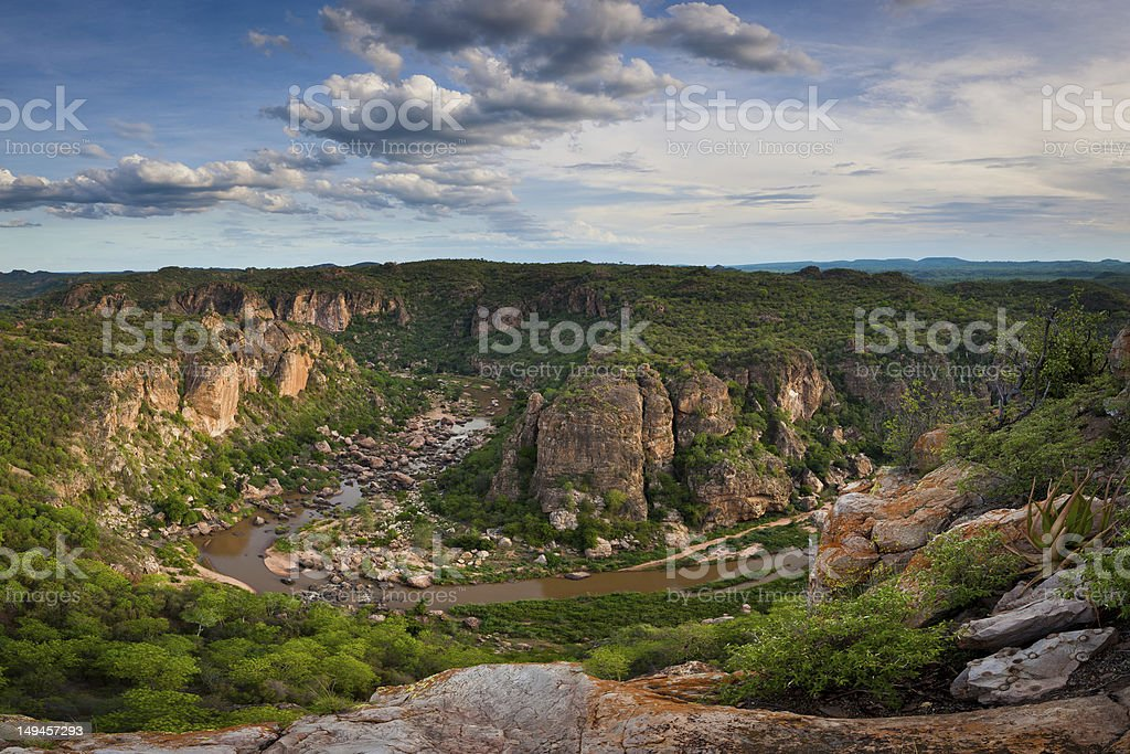 Lanner Gorge stock photo
