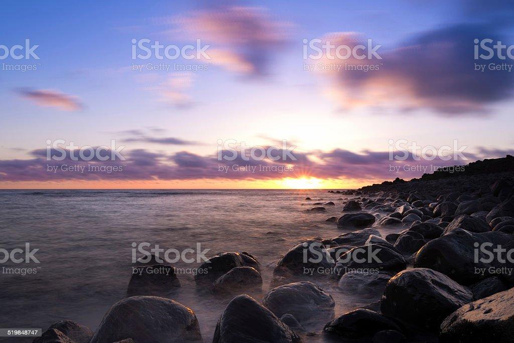 Lanrazote's Sunset stock photo