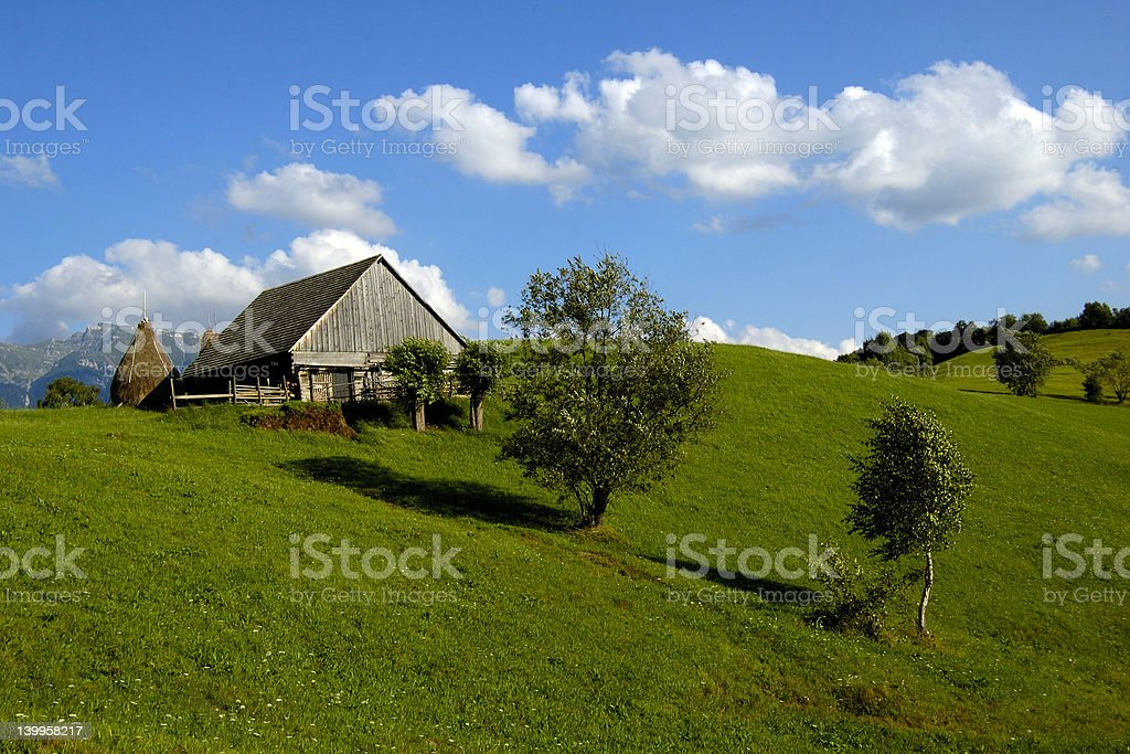 lanscape hill royalty-free stock photo