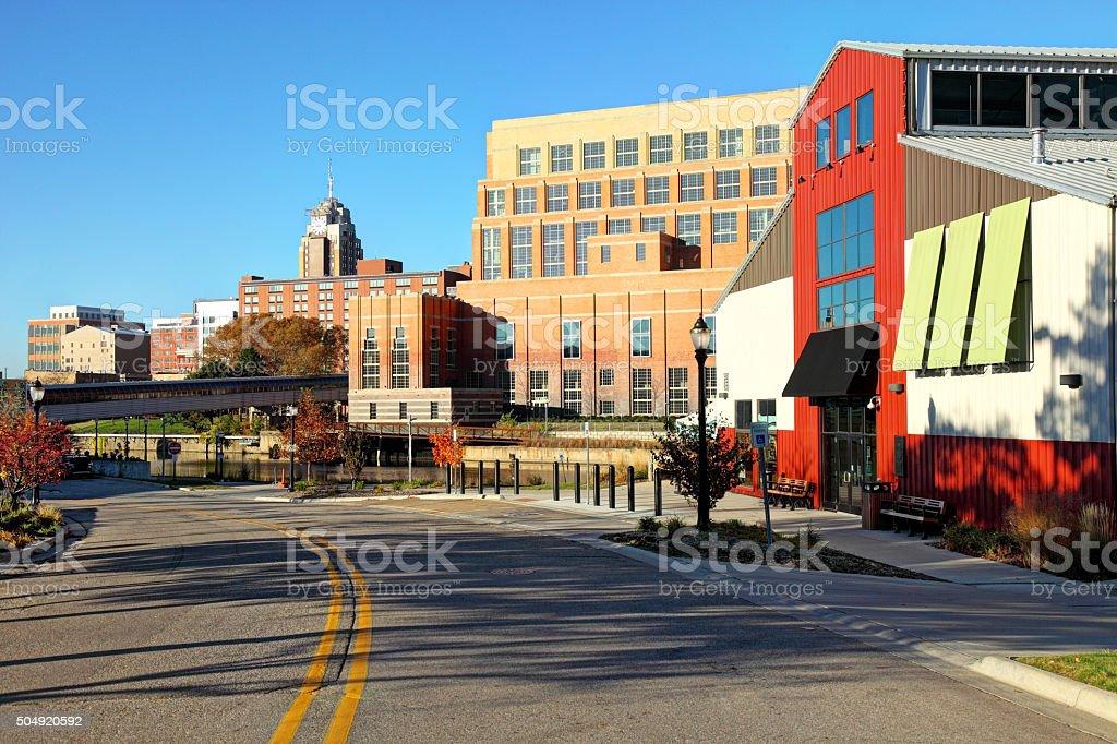 Lansing, Michigan stock photo