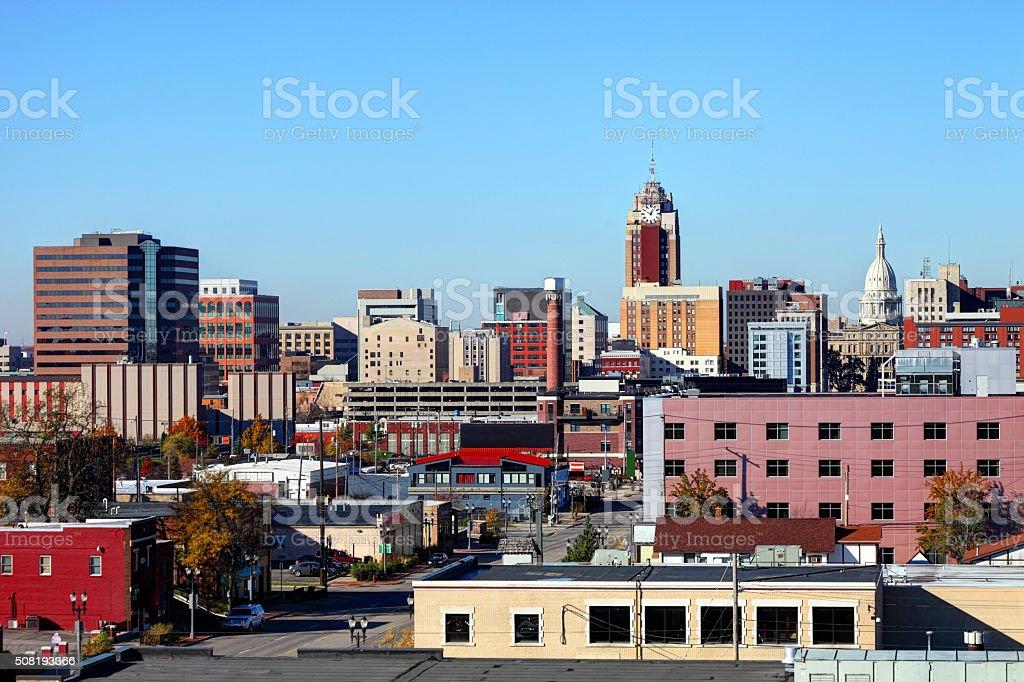 Lansing Michigan stock photo