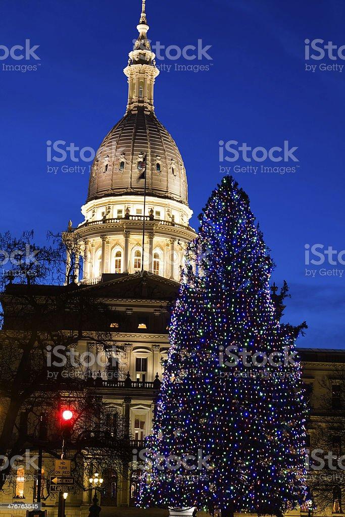Lansing Christmas Tree Part - 19: Christmas Lights, Christmas Tree, Lansing,  Michigan
