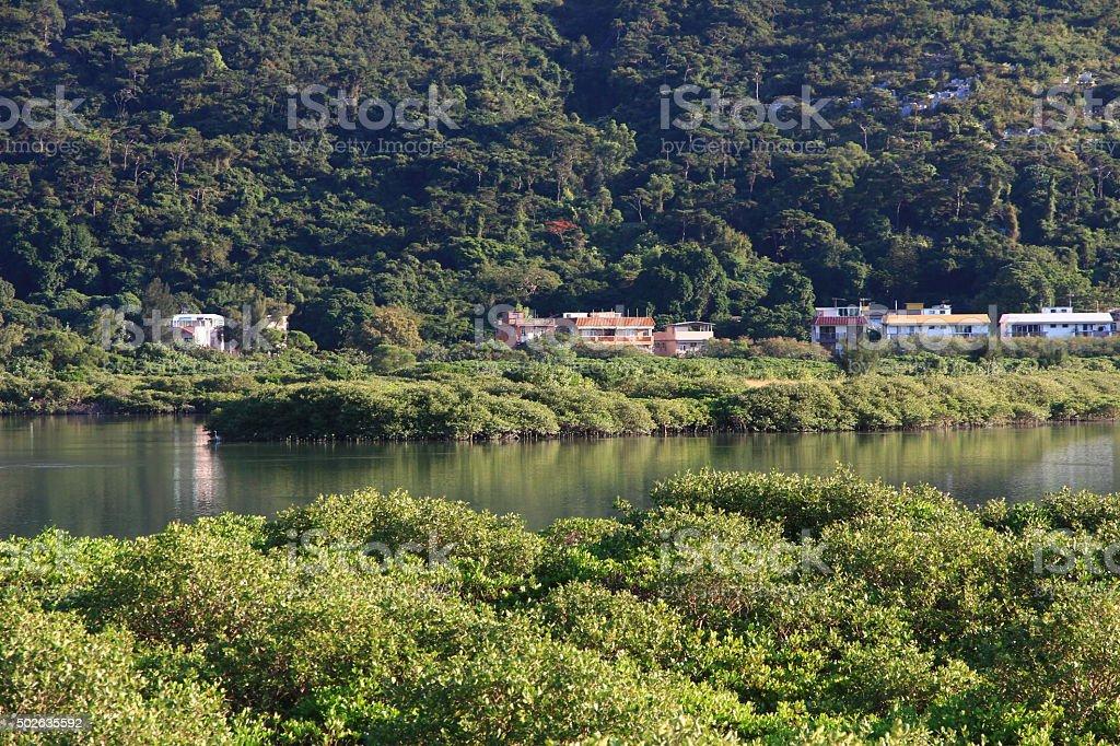 Lantau Island, Hong Kong stock photo