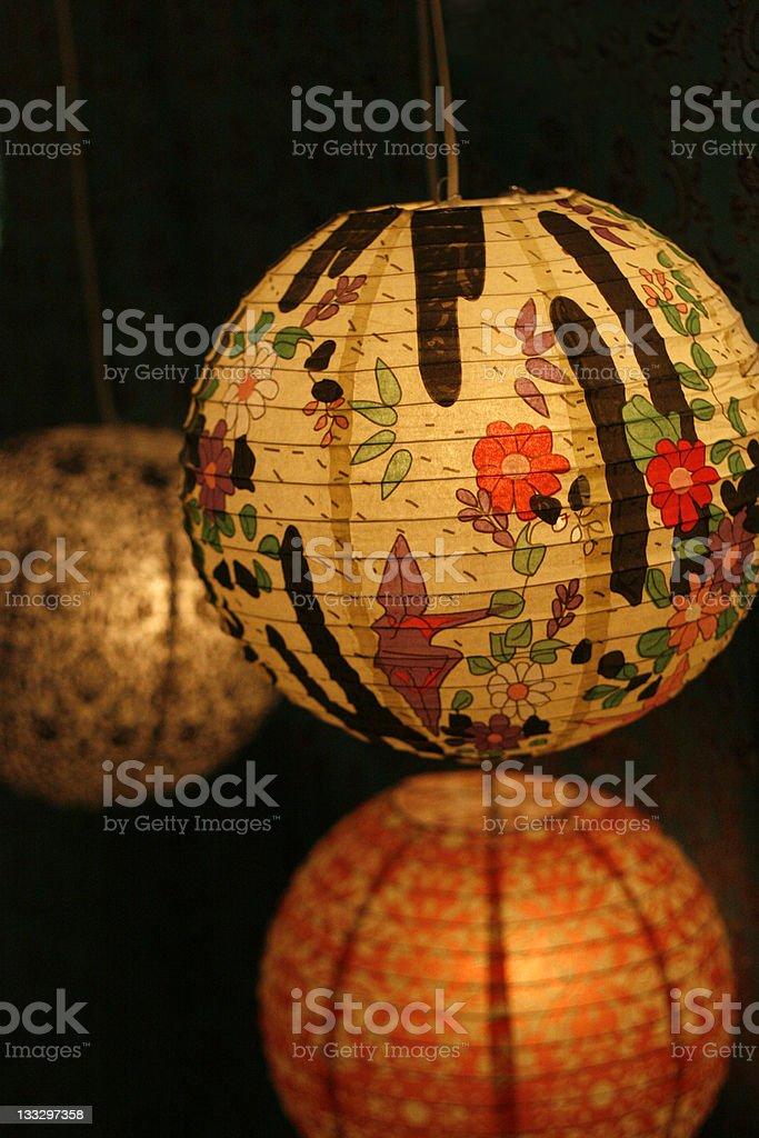 Lantern Abstract royalty-free stock photo