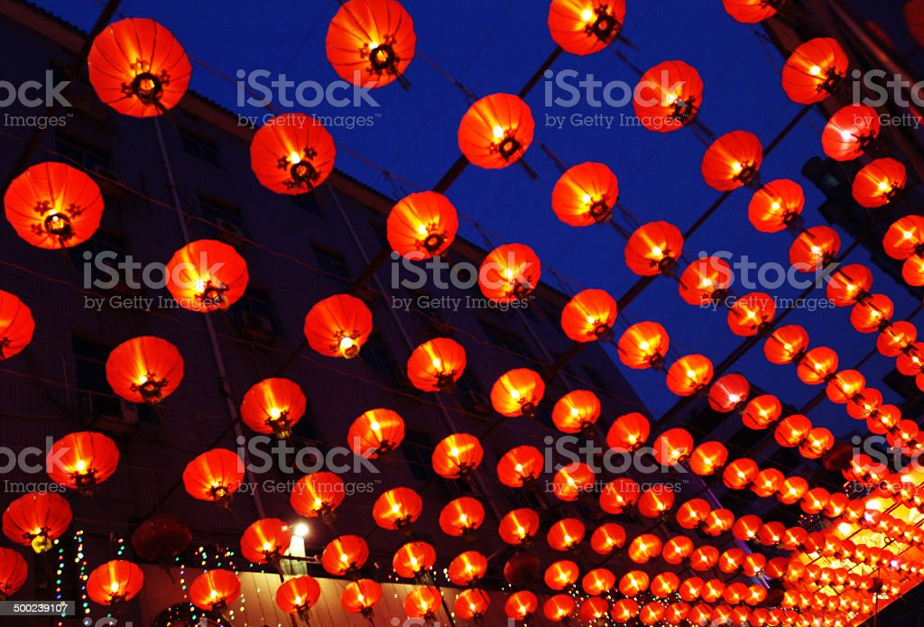 Lantern,   Chinese New Year stock photo