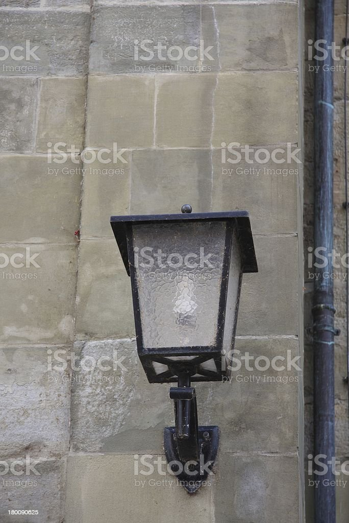 lantern from a church royalty-free stock photo