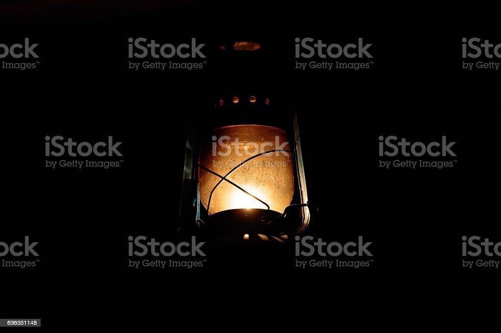 Lantern Glowing stock photo