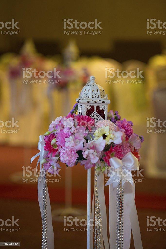 Lantern, Wedding, Flower, Valentine's Day stock photo