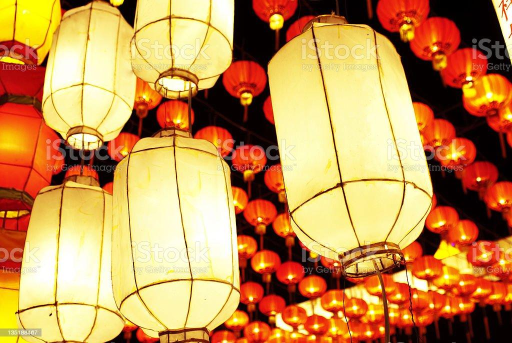 lanterns stock photo