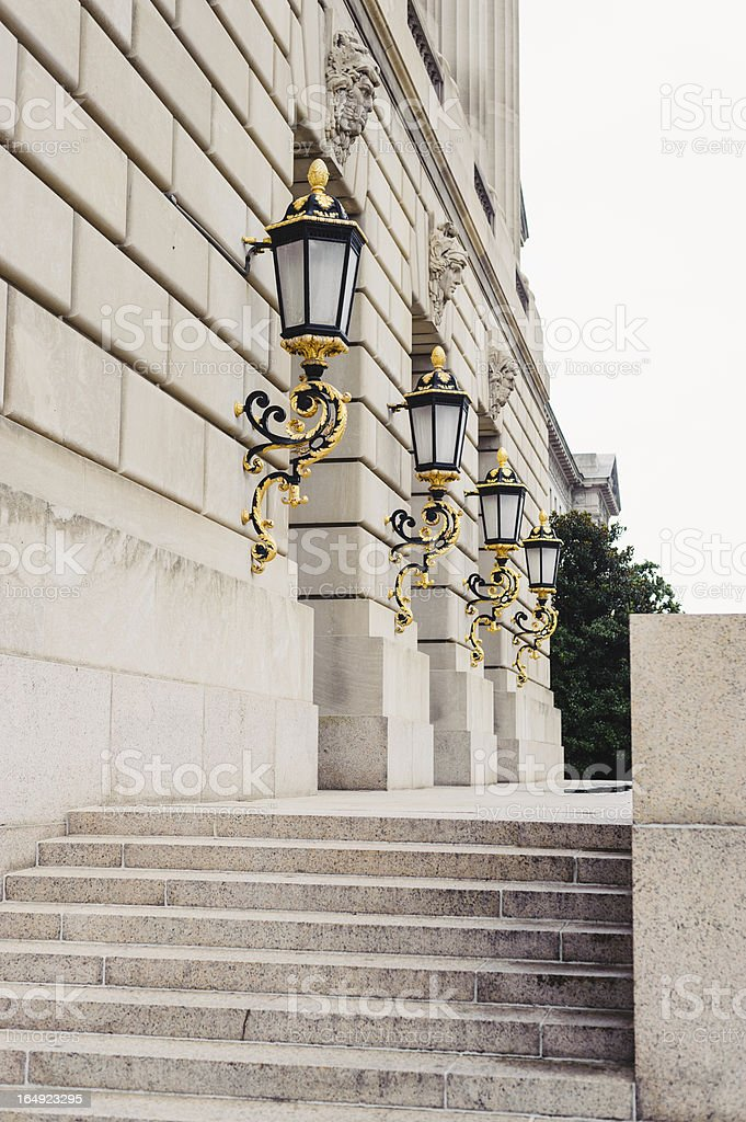 EPA Lanterns stock photo