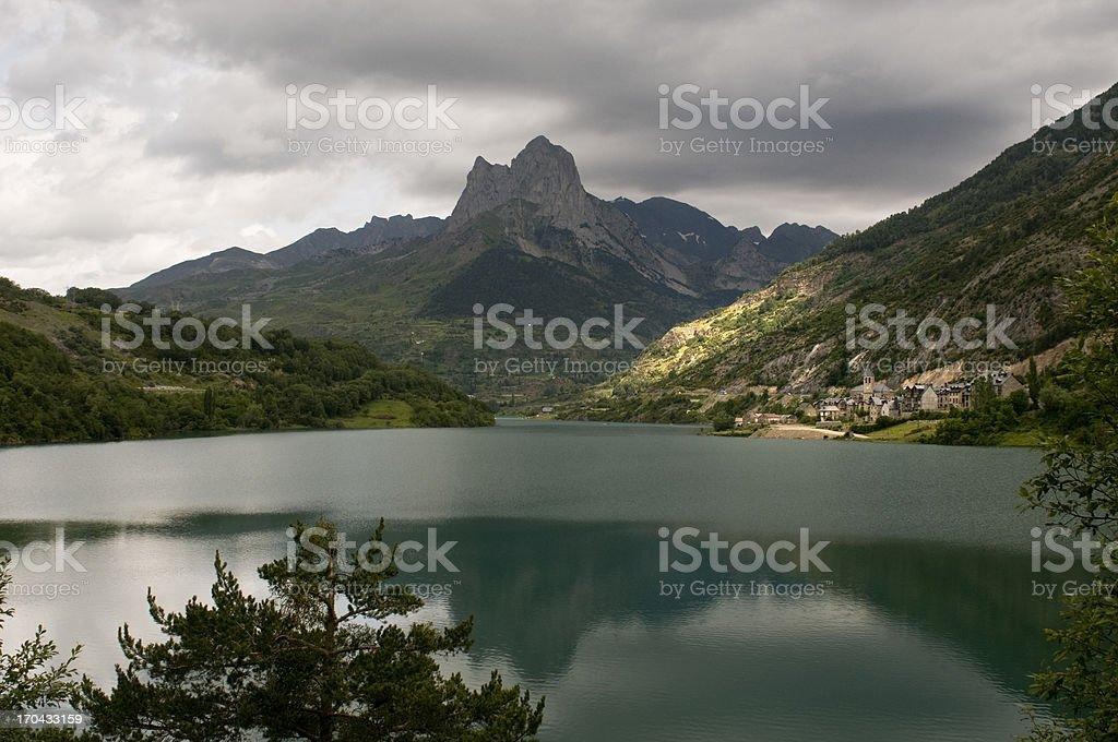 Lanuza (Spain) stock photo
