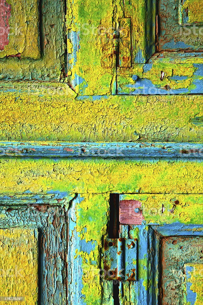 lanzarote abstract wood in  colors royalty-free stock photo