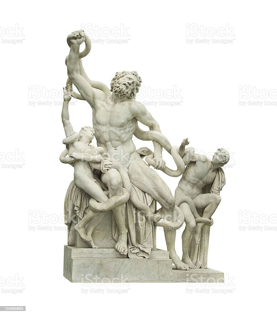 Laocoon Group royalty-free stock photo