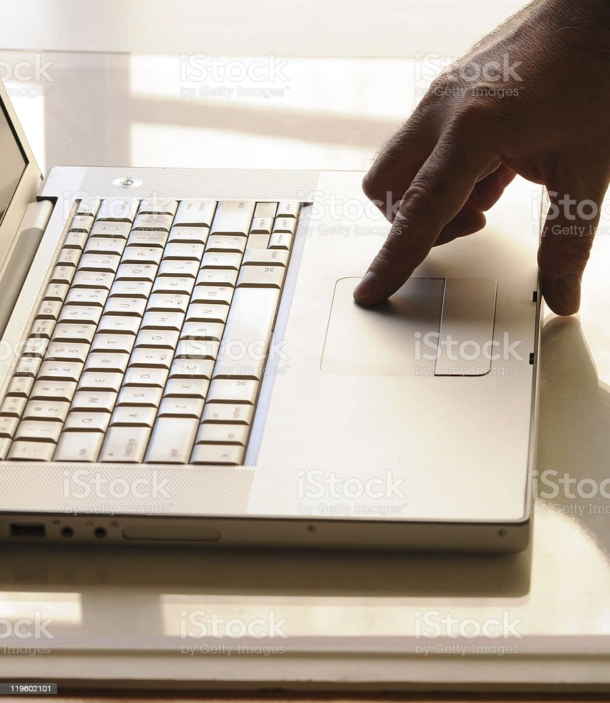 Lap Top royalty-free stock photo