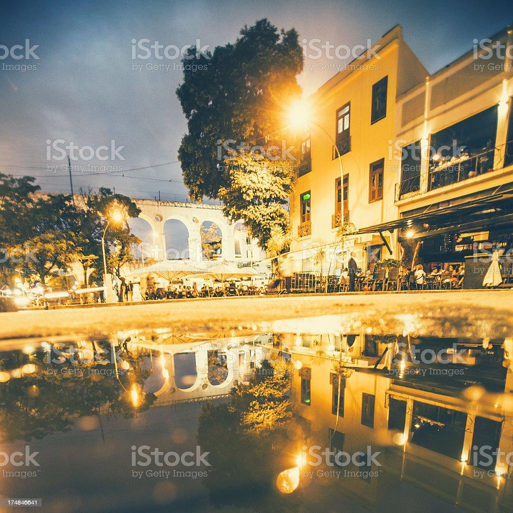 Lapa nightlife. royalty-free stock photo