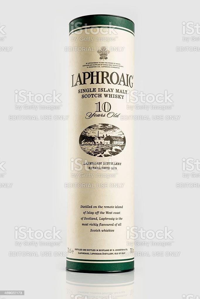 Laphroaig whisky royalty-free stock photo