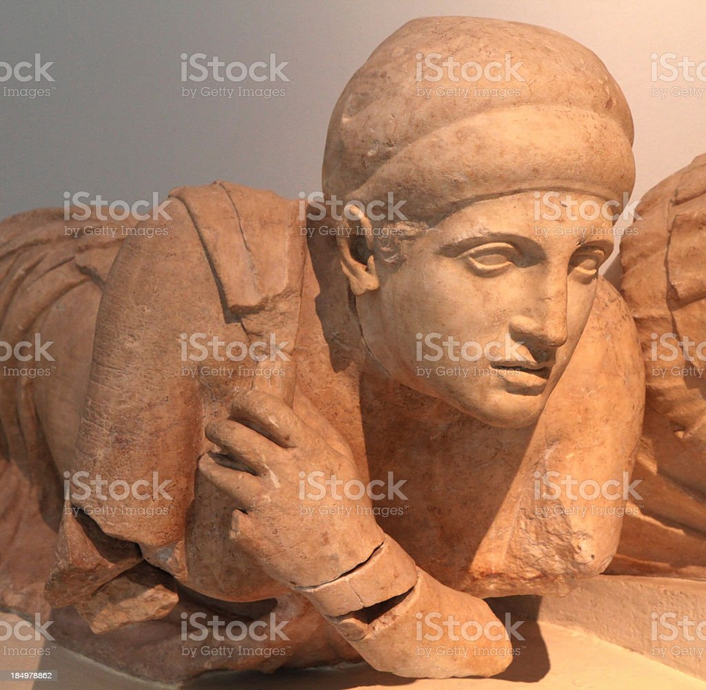 Lapith Woman, 5th century BC, Greece stock photo