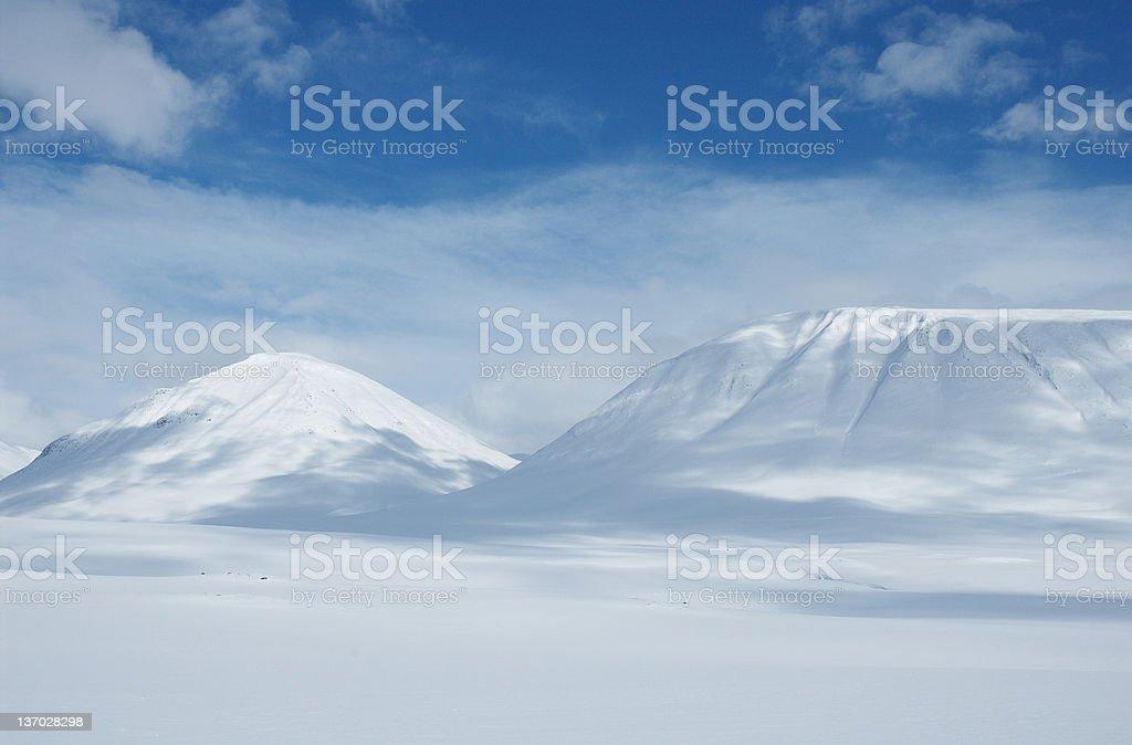 Lapland royalty-free stock photo
