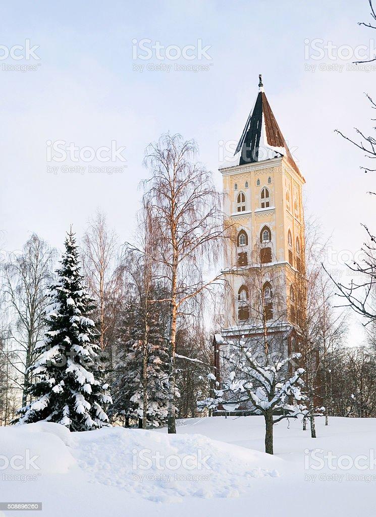 Lappeenranta. Finland. Belfry stock photo
