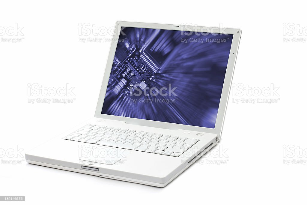 Laptop 03 royalty-free stock photo