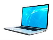Laptop 45 degree Open