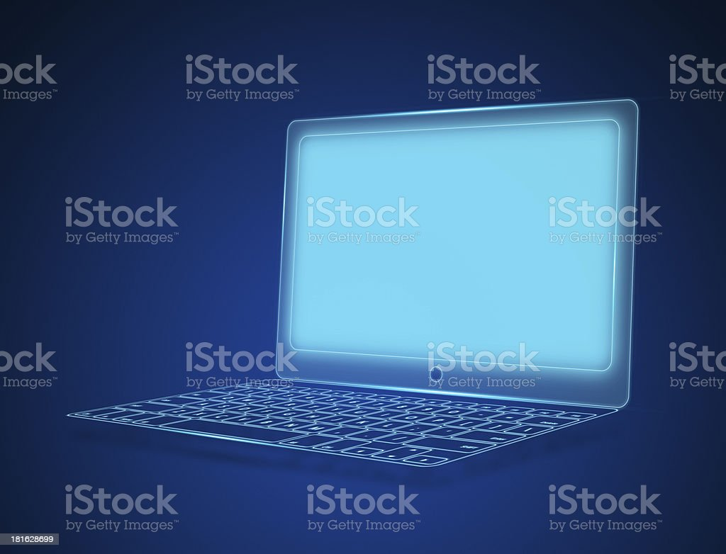 Laptop Computer notebook royalty-free stock photo