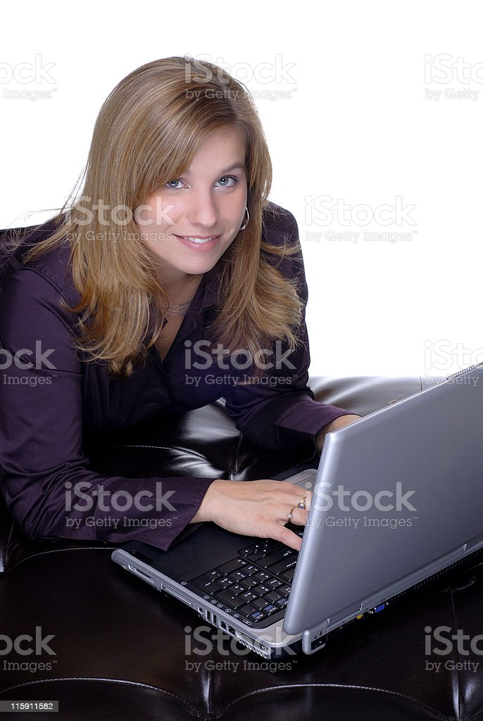 Laptop Computer royalty-free stock photo