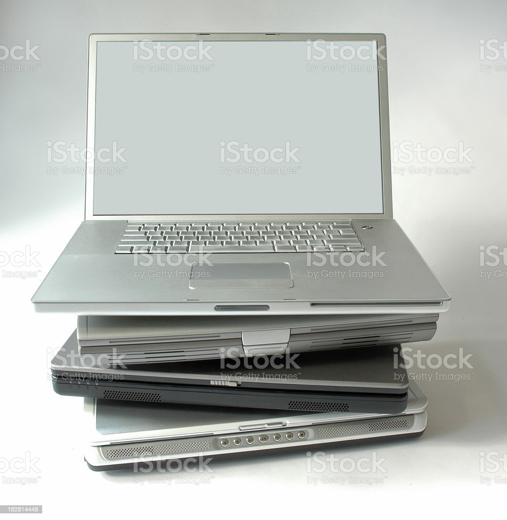 Laptop Computers royalty-free stock photo