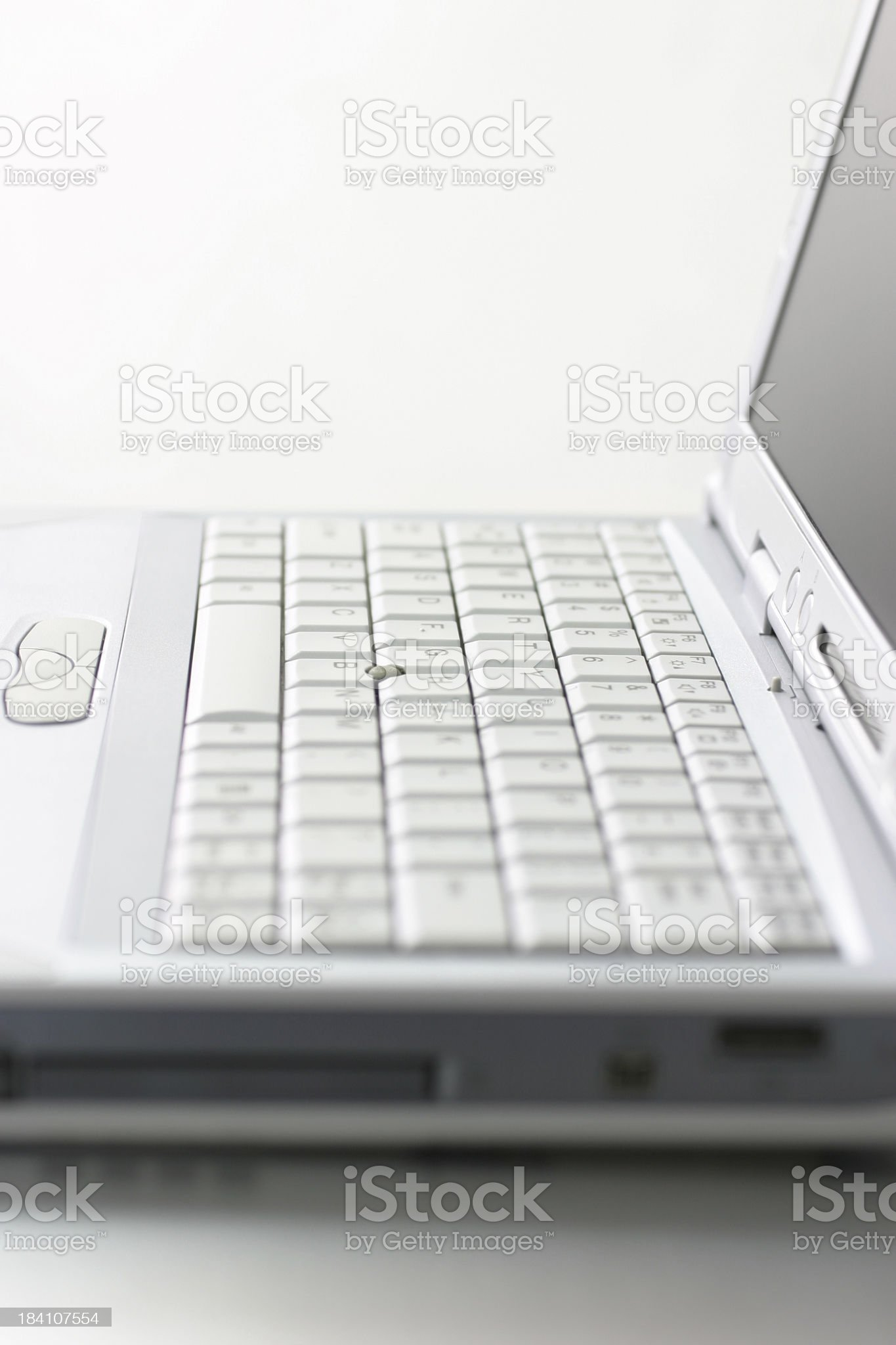 Laptop Keyboard royalty-free stock photo