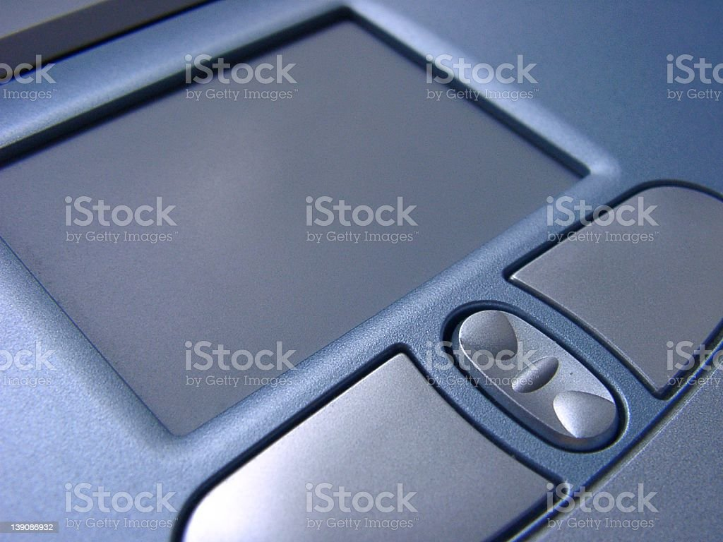 Laptop Mouse Pad royalty-free stock photo
