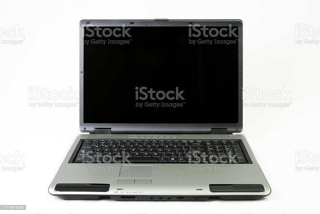 Laptop - notebook royalty-free stock photo