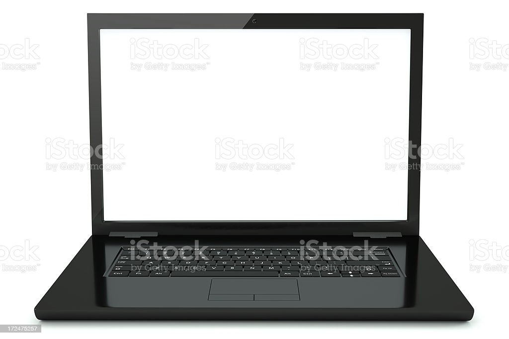 laptop royalty-free stock photo