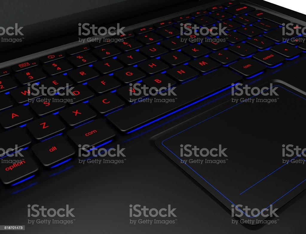 Laptop. royalty-free stock photo