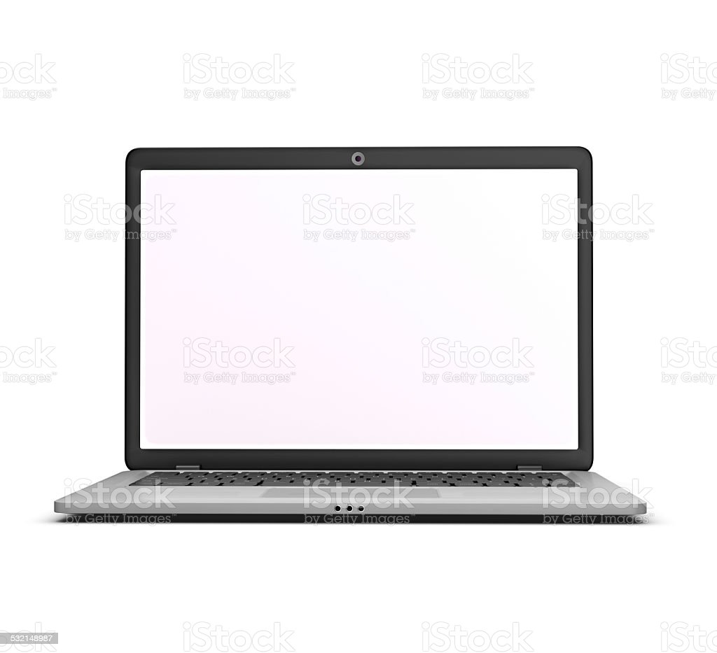 Laptop. royalty-free stock photo