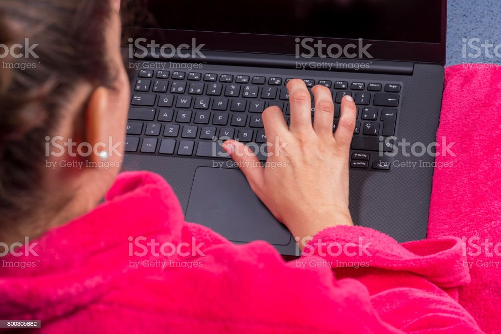 Laptop. stock photo