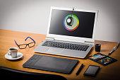 Laptop screen calibtation
