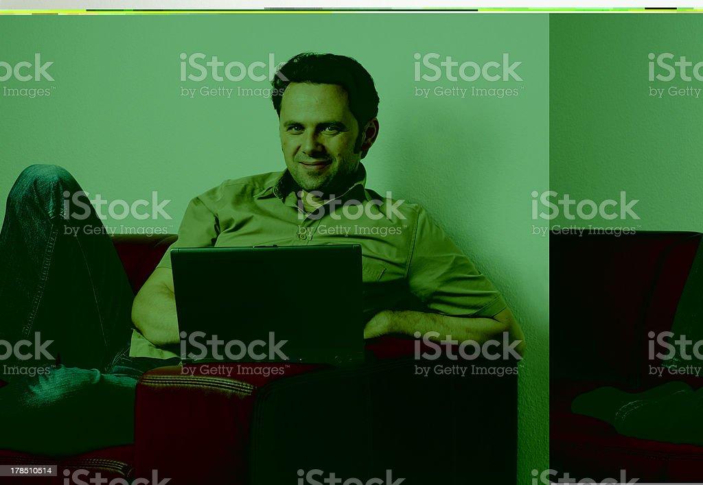 laptop work royalty-free stock photo