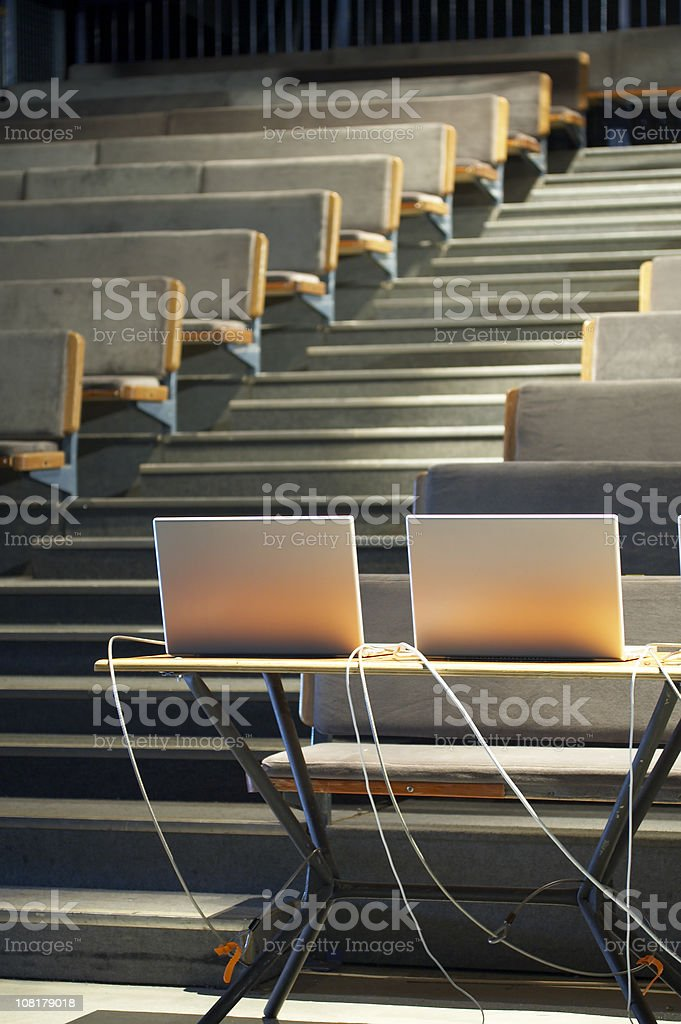 Laptops for Presentation royalty-free stock photo