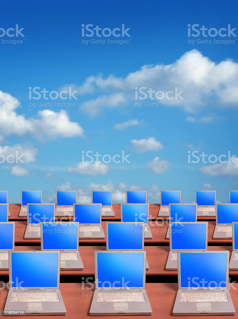 Laptops royalty-free stock photo