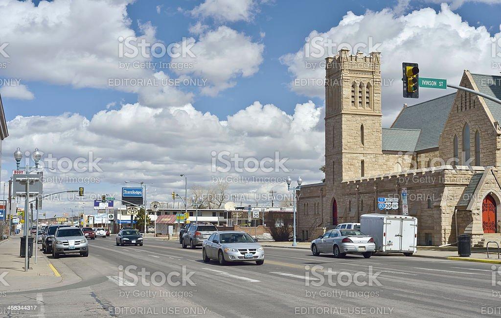 Laramie, Wyoming royalty-free stock photo