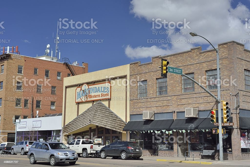 Laramie, Wyoming stock photo