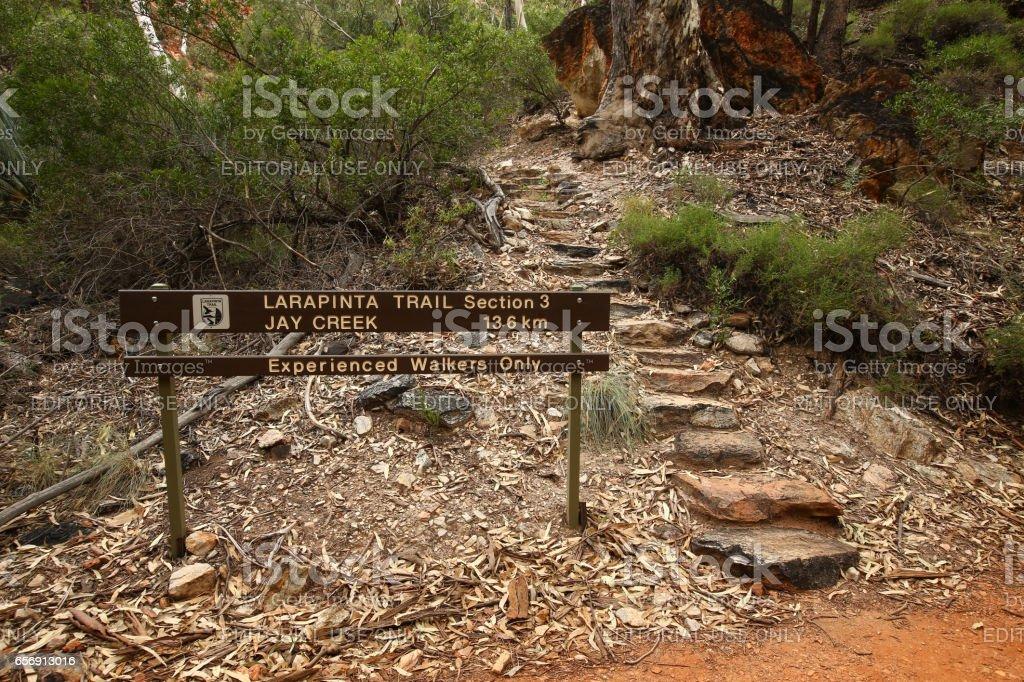 Larapinta Trail stock photo