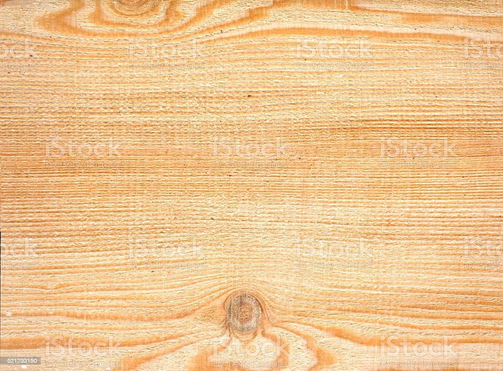 Larch tree - Wood texture - unplaned board stock photo