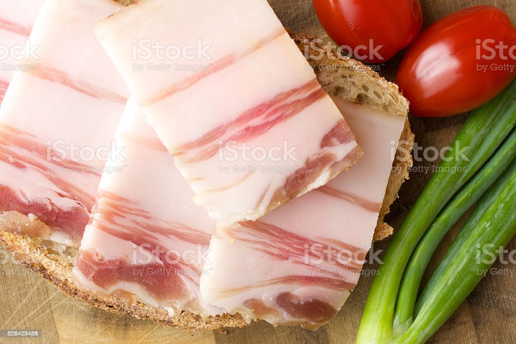 Lard stock photo
