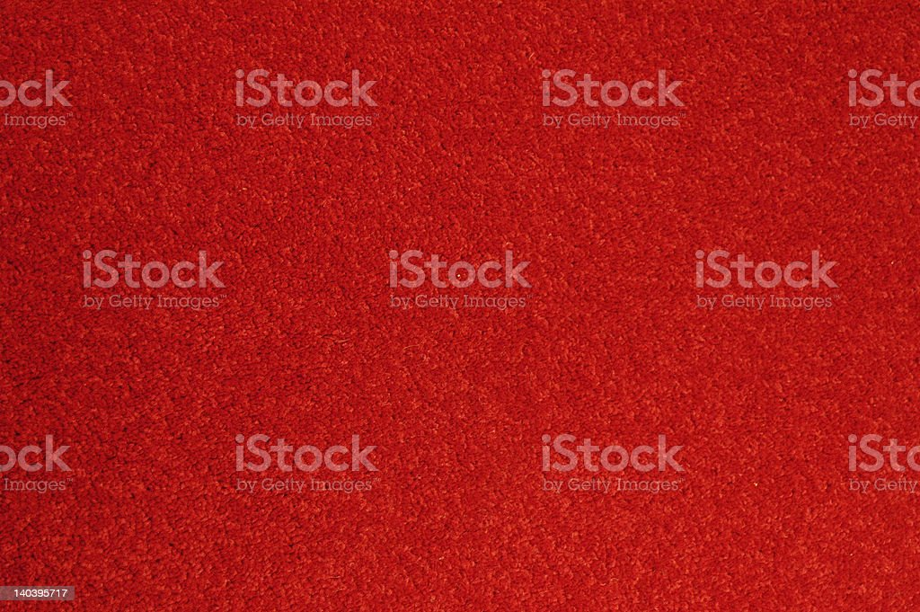 Large area of carpet in red royalty-free stock photo