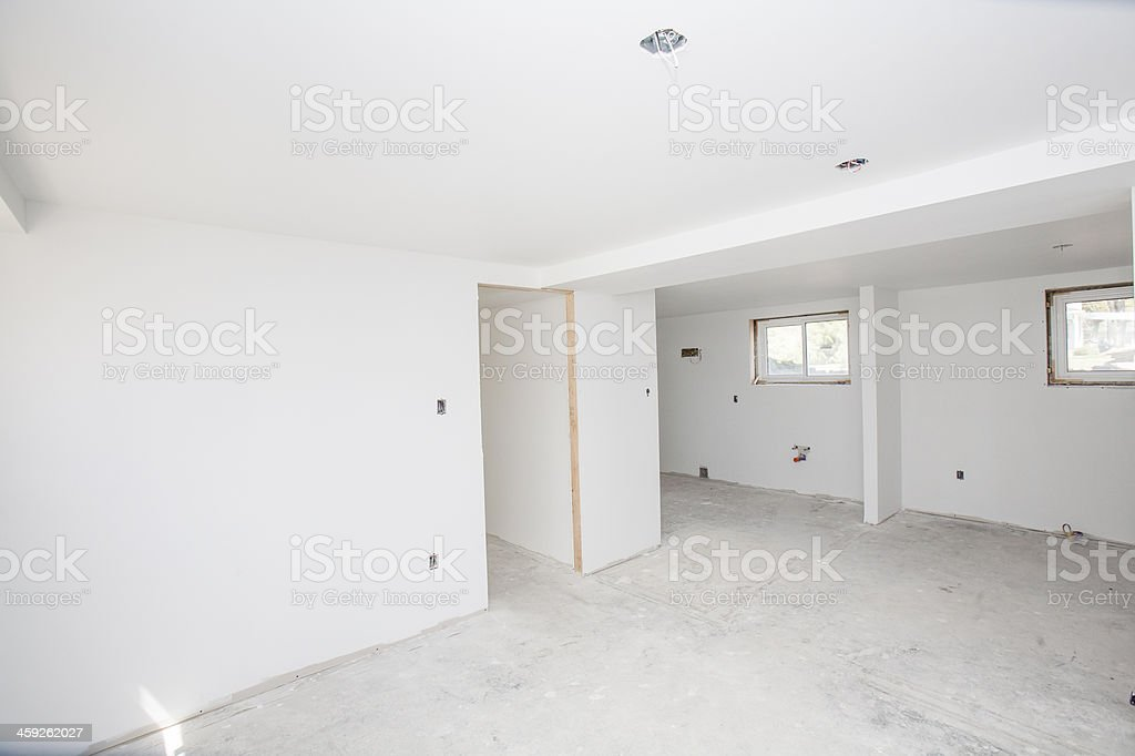 Large basement stock photo