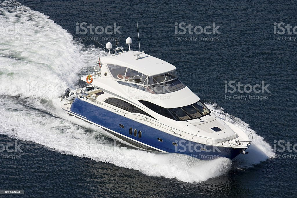 Large boat arrives into port. royalty-free stock photo