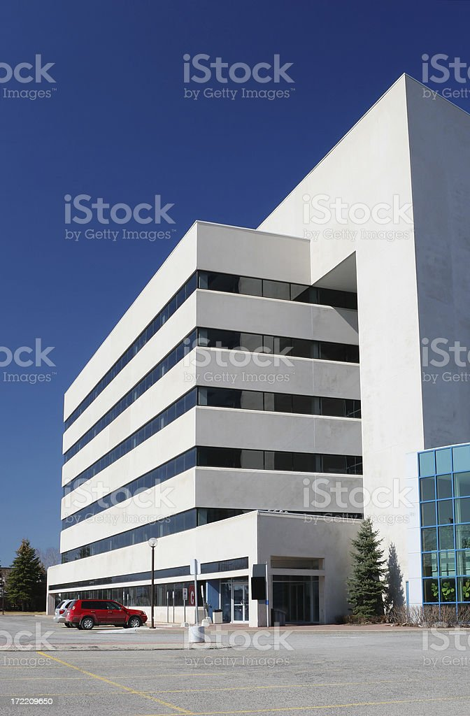 Large Bulky Architecture Building royalty-free stock photo
